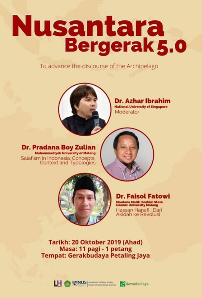 Nusantara Bergerak 5.0 : To Advance The Discourse of The Archipelago