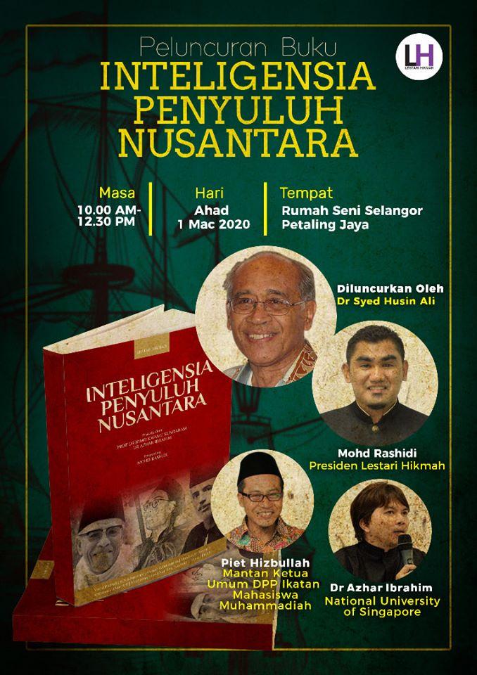 "Majlis Peluncuran Buku ""Inteligensia Penyuluh Nusantara"""