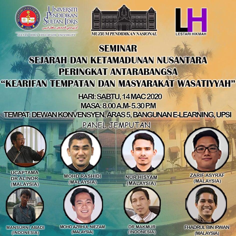 Seminar Sejarah Dan Ketamadunan Nusantara