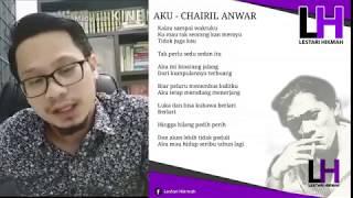 Seruan Nusantara 22 Chairil Anwar Suara Jiwa Merdeka