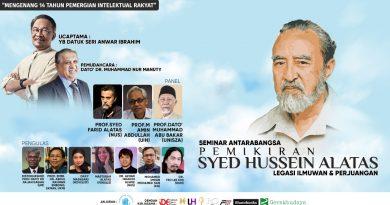 Seminar Antarabangsa Pemikiran Syed Hussein Alatas